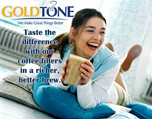 GoldTone Brand Reusable #4 Cone Coffee Filter fits Moccamaster Coffee Makers and Brewers. BPA-Free by GoldTone (Image #3)