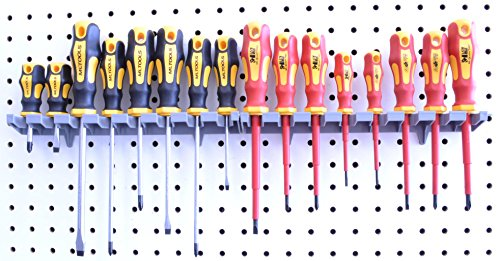 Screwdriver Organizer | MLTOOLS 8 Tool V-Slot Screwdriver Organizer | Made in USA | VS8226 x 2 by MLTOOLS