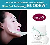 Cheap LA FAON Instant Lift Serum Stem Cell Face Mask : Hyaluronic Acid Sheet Mask Enriched with ECODEW Tripeptide -5 Collagen for Ultimate Wrinkle Treatment and Pore Tightening Anti Aging Sheet Mask
