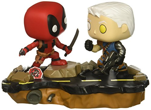 (Funko Pop Marvel: Comic Moments-Deadpool Vs. Cable Collectible Figure,)