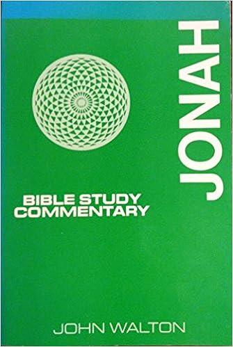 Gratis ebøker last ned for nettbrettet Jonah, Bible Study Commentary (Norsk litteratur) PDB
