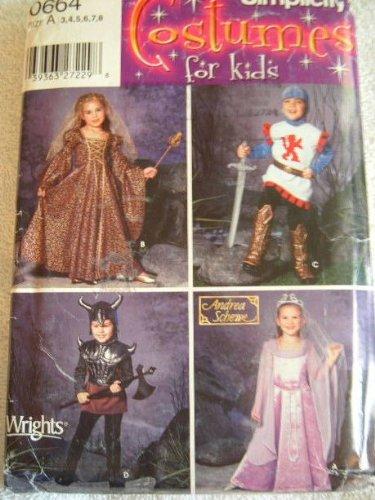 CHILD (7 Knights Costume)
