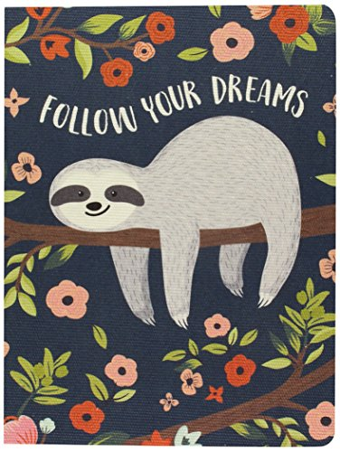 Studio Oh! DJ005 Deconstructed Journal, Follow Your Dreams Sloth
