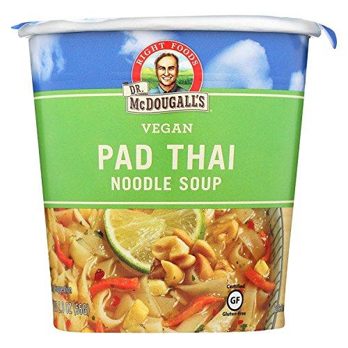 Dr McDougalls Right Foods Pad Thai Noodle Big Cup Soup, 2 Ounce -- 6 per ()