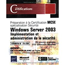 Windows Server 2003-Implémentation et administration de la..