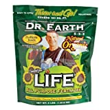 Dr. Earth 7003 Life All Purpose Fertilizer, 40-Pound