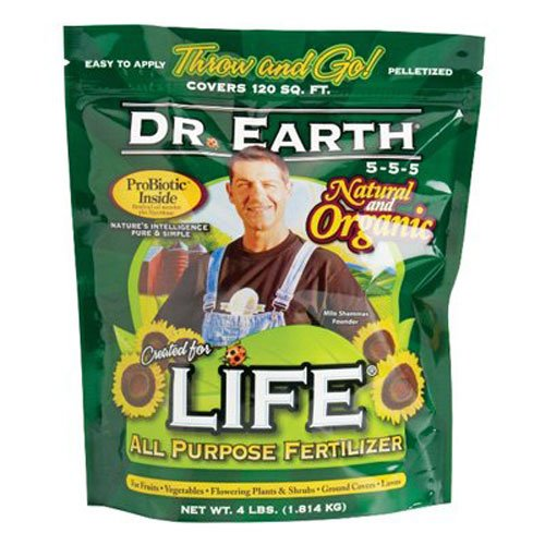 Dr. Earth 7003 Life All Purpose Fertilizer, 40-Pound by Dr. Earth