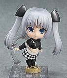 Nendoroid miss monochrome Poker Face Black ver. (ABS & PVC painted action figure)