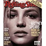 Rolling Stone Magazine Britney Spears Issue 1046 February 21 2008
