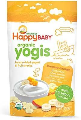 Happy Family happy yogis Yogurt Snacks - Banana Mango - 1 oz