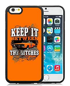 High Quality iPhone 6S TPU Skin Case ,The Dukes Of Hazzards Black iPhone 6S Screen Cover Case Popular And Unique Custom Designed Phone Case