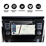 RUIYA 2016 2017 Nissan Altima 2014-2017 Nissan Rogue 2017 Rouge Sport Car Navigation Protective Film,Clear Tempered Glass HD and Protect your Eyes (7-Inch Navigation Screen Protector)