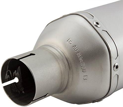 SP1 Lextek SP1 Matte Acier Inoxydable Silencieux /Échappement Hexogonale 51mm