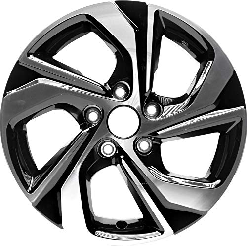 Partsynergy Replacement For New Replica Aluminum Alloy Wheel Rim 16 Inch Fits 2016-2017 Honda Accord 5 Spokes 5-114.3mm