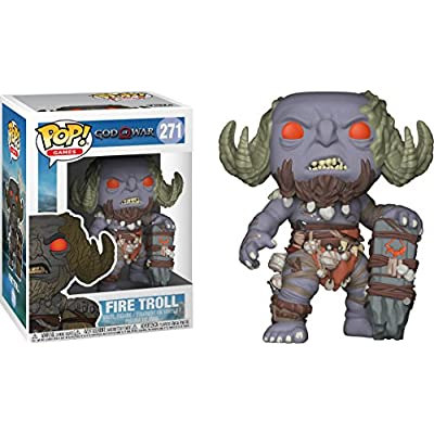 Funko Pop! Games: God of War - Firetroll Vinyl Figure (Includes Compatible Pop Box Protector Case): Toys & Games