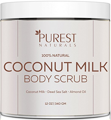 purest-naturals-coconut-milk-body-scrub-polish-best-100-natural-exfoliator-moisturizer-for-cellulite