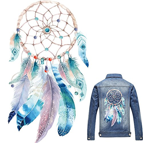 - Artem Dreamcatcher Heat Transfer Sticker Patch Craft Iron On Applique DIY Ornament