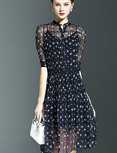 buy popular 1a4b3 7a313 Abiti da donna eleganti estivi Vestito Da donna Swing Moda ...