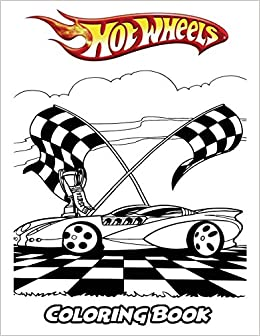 Amazon.com: Hot Wheels Coloring Book: Coloring Book for Kids ...