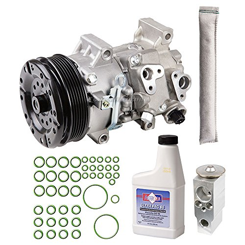 Toyota Corolla A/c Compressor - New AC Compressor & Clutch With Complete A/C Repair Kit For Toyota Corolla - BuyAutoParts 60-80495RK New