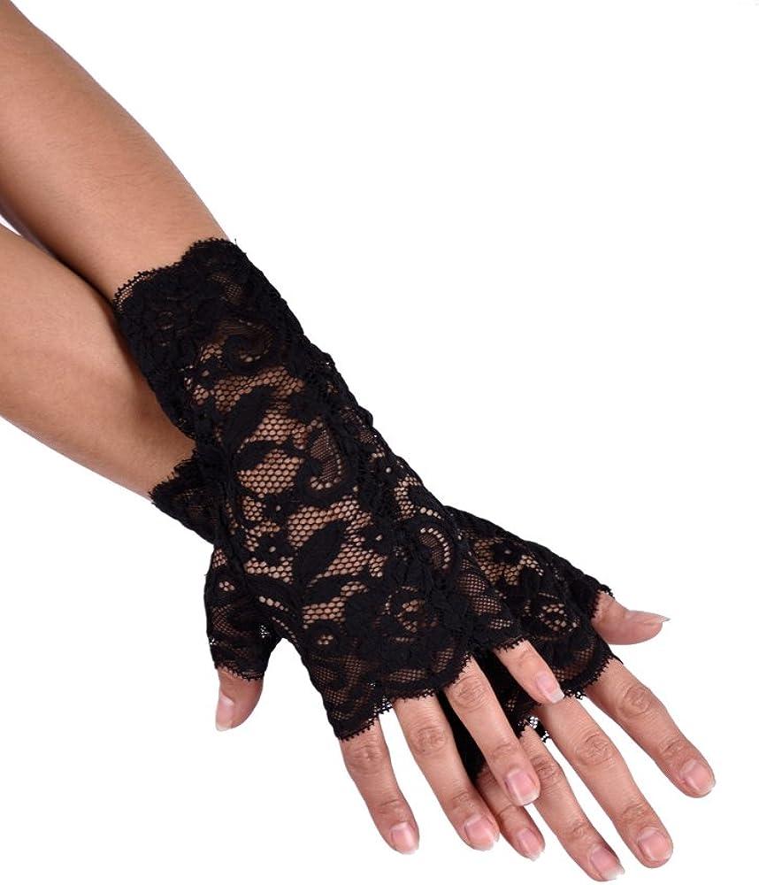 /brevi guanti in pizzo jowiha/®/