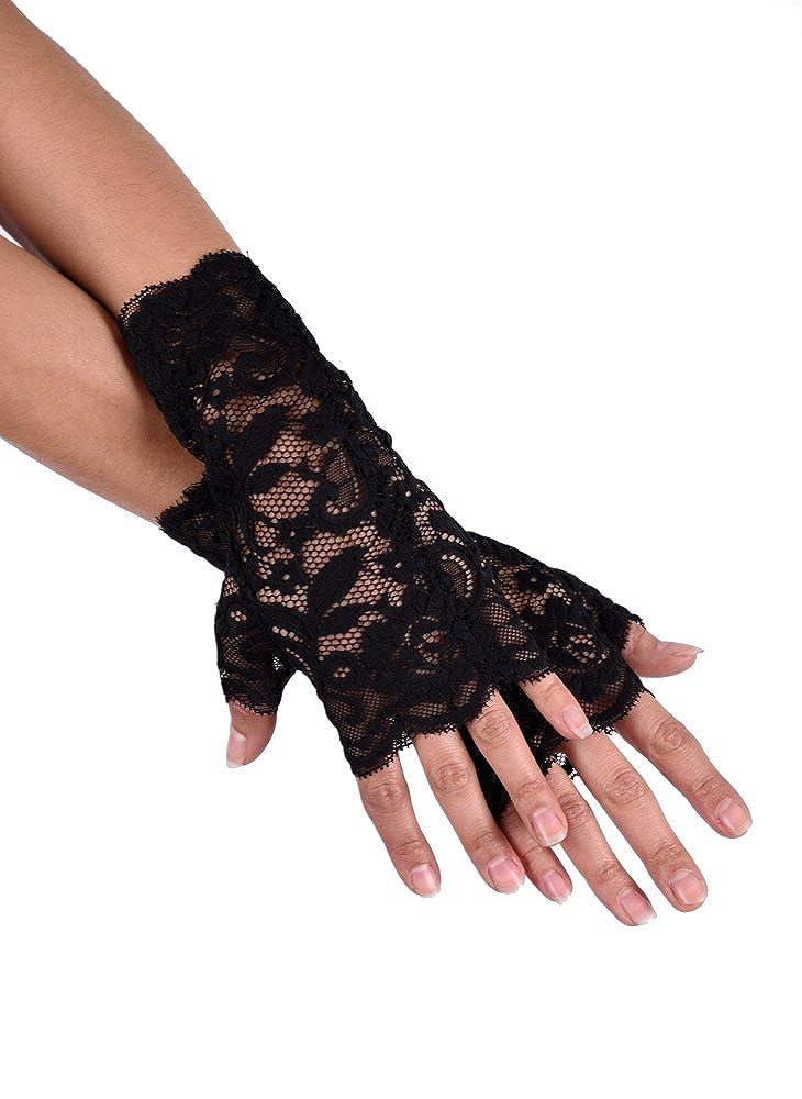 jowiha/® Kurze Handstulpen aus Spitze