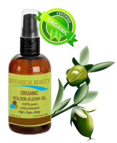 organic golden jojoba oil face