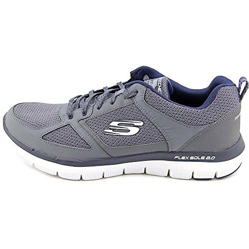 Skechers blu 2 0 Ginnastica Uomo Carbone Flex Da Advantage Scarpe rqrPA7