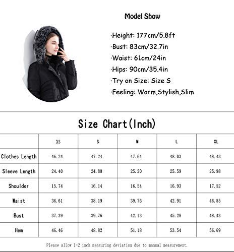 Buy long down coat for women