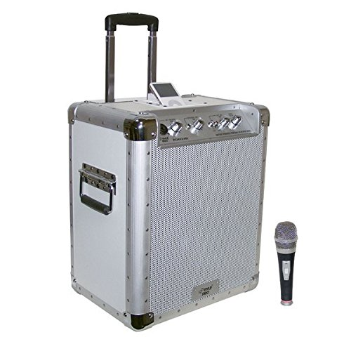 y Powered Portable PA System with Ipod Docking Station ()