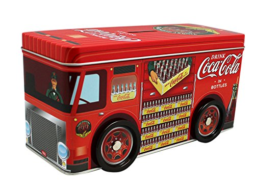 Coca Cola Delivery Truck Coin Bank