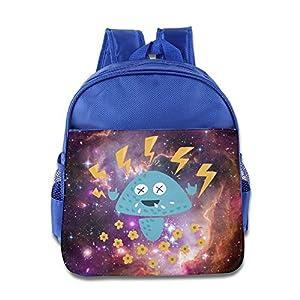 Electrified Mushroom Kids Backpack School Bag For Boys/girls RoyalBlue