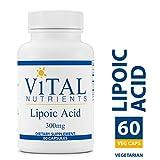 Vital Nutrients – Lipoic Acid 300 mg – Multi-Purpose Nutrient and Powerful Antioxidant – 60 Capsules