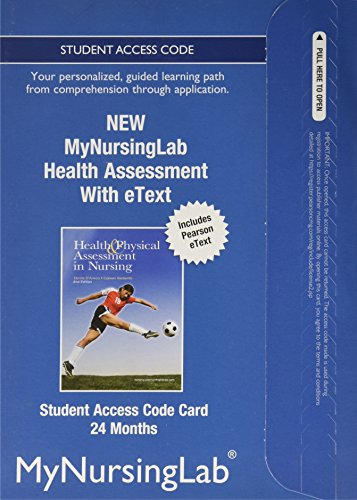 NEW MyNursingLab with Pearson eText -- Access Card -- for Health Assessment (24-month access)