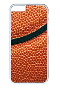 Basketball14 Custom iphone 6 plus 5.5 inch Case Cover Polycarbonate White