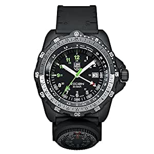 Luminox Men's A.8831.KM Recon Analog Display Quartz Black Watch
