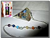 Free 40 Pages Booklet Jet International Crystal Therapy Book provides deep insight about Crystal Therapy, Chakra Balancing, Cleansing & Programming Crystals, Use on Pets, Benefits, Applications and many more details. Lovely New Orgone Cone Shaped...