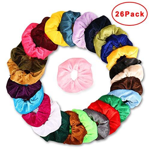 Velvet Hair Scrunchies Elastic Accessories product image
