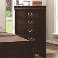 Coaster Home Furnishings 202415 Traditional Chest, Cappuccino