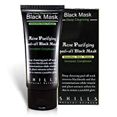 With legions of fans, the FAMOUS & 100% GENUINE Blackhead Remover peel-off mask from SHILLS is here. The ORIGINAL SHILLS Deep Cleansing Purifying Blackhead Remover Peel-Off Black Face Mask has earned its superstar status by being t...