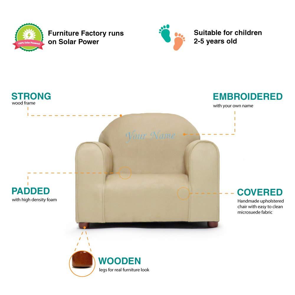Amazon.com: Silla tapizada personalizada para niños con ...