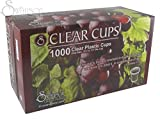 Communion - Cup - Disposable (Clear) - 1-1/4 (Pk/1000)