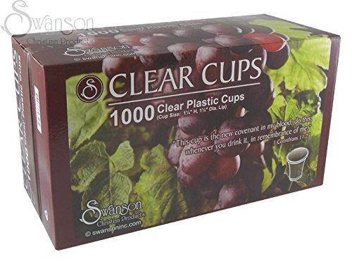 Communion - Cup - Disposable (Clear) - 1-1/4 (Pk/1000)