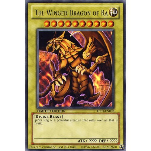 Yu-Gi-Oh! - The Winged Dragon of Ra (LC01-EN003) - Legendary Collection - Limited Edition - Ultra Rare Konami
