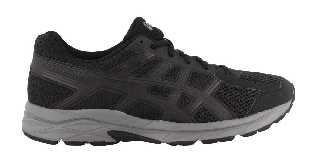 ASICS Men's Gel-Contend 4 Running Shoe B077MDJGRF 11 D(M) US|Black/Dark Grey