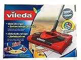 Vileda 123186 electric broom - electric brooms (Black, Red)
