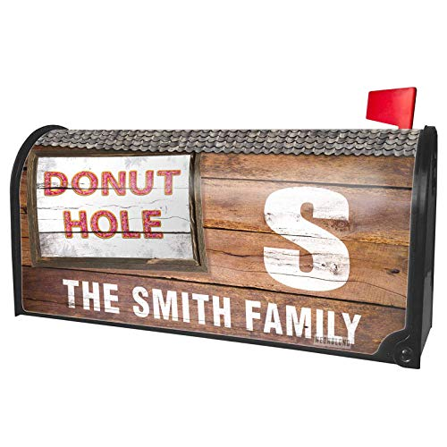 NEONBLOND Custom Mailbox Cover Donut Hole Doughnuts -