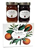 Sarabeth's Two Jar Gift Box Set - Two 9 oz. jars - Peach Apricot & Strawberry Raspberry