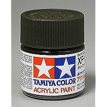 Tamiya Acrylic XF62, Flat Olive Drab TAM81362 by Tamiya