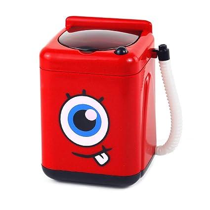 ChenguId Mini limpiador de brochas de maquillaje, mini lavadora ...